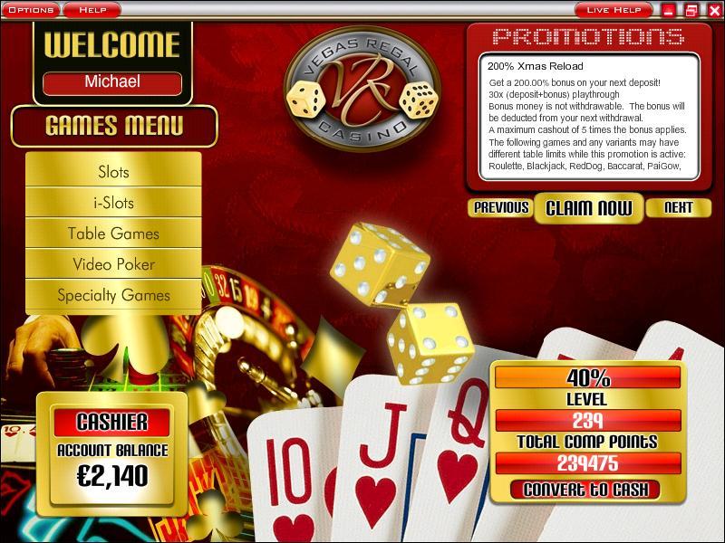 Vegas Regal Casino Lobby
