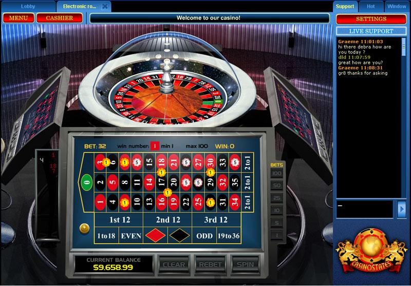 Casino States Lobby